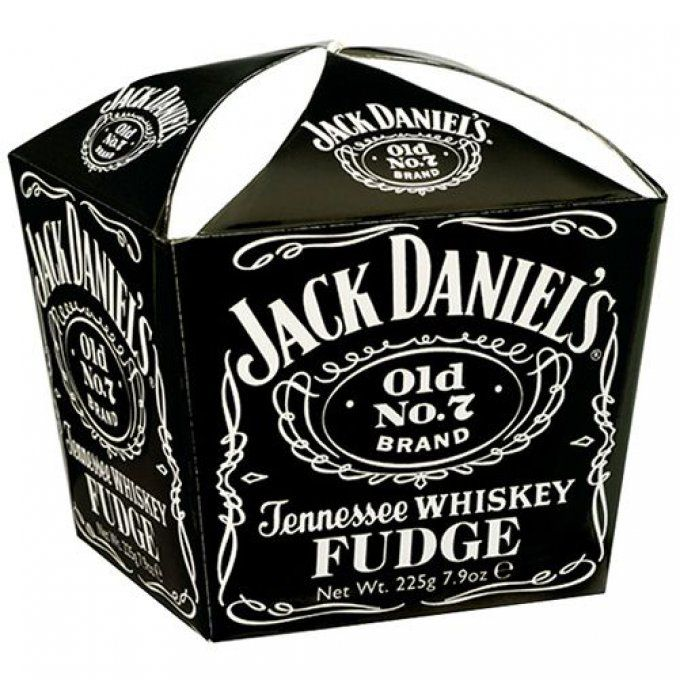Fudge au whisky Tennessee Jack Daniel's